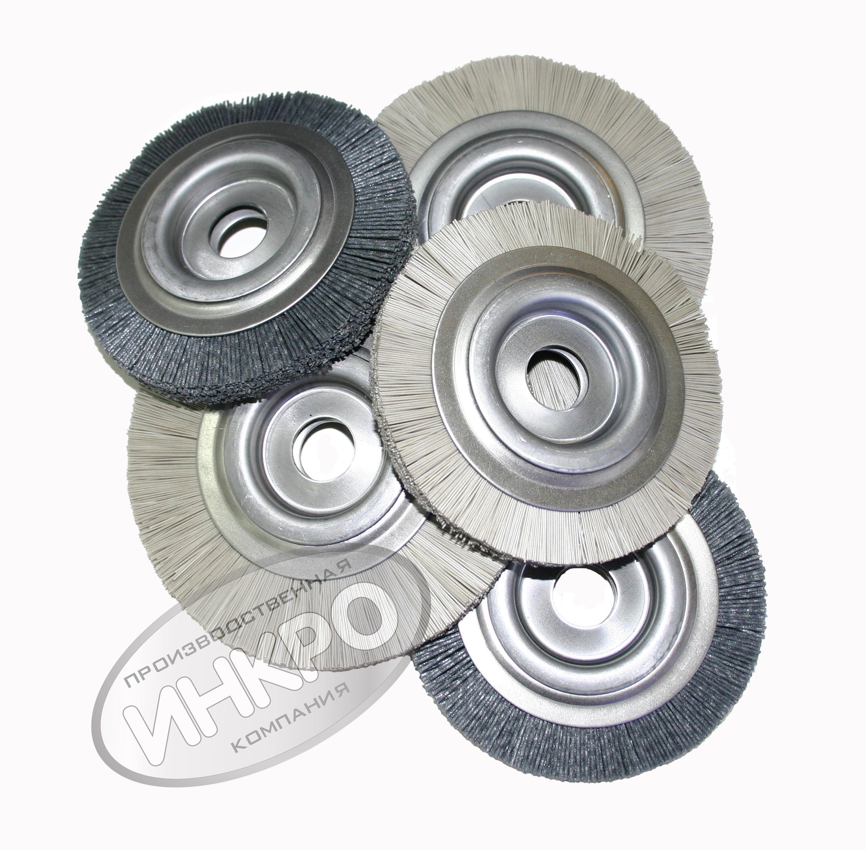 Щетки дисковые,вальные полимерно-абразивные (РА)